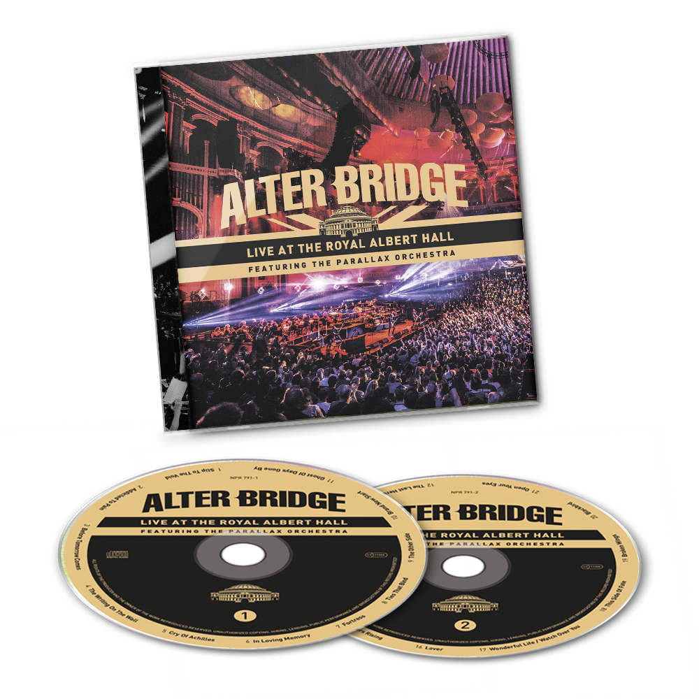 Buy Online Alter Bridge - Live At The Royal Albert Hall Featuring The Parallax Orchestra