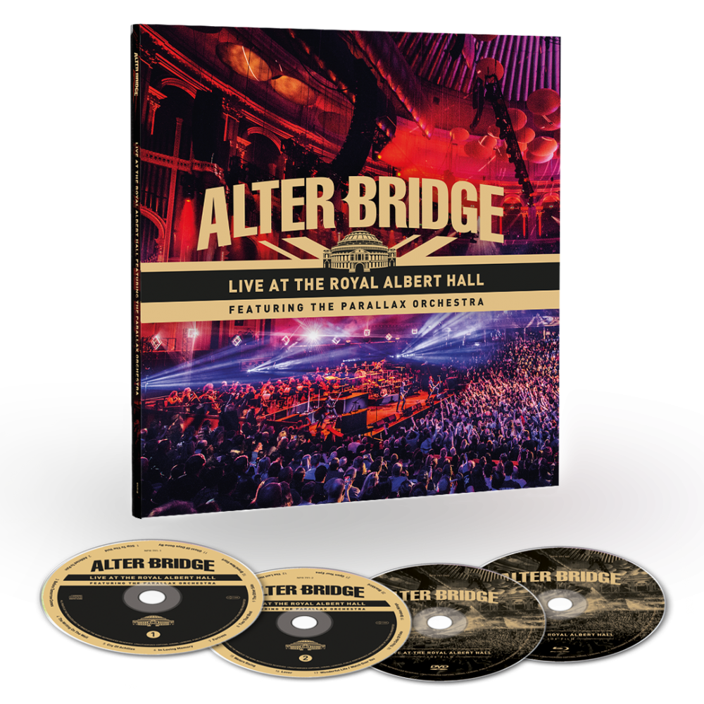 Buy Online Alter Bridge - Live At The Royal Albert Hall Featuring The Parallax Orchestra EarBook (Includes 12x12 Album Artwork Print)