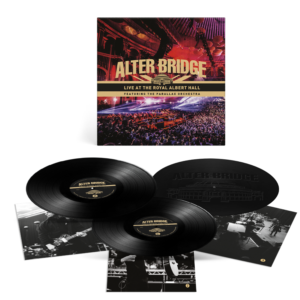 Buy Online Alter Bridge - Live At The Royal Albert Hall Featuring The Parallax Orchestra (Includes 12x12 Album Artwork Print)