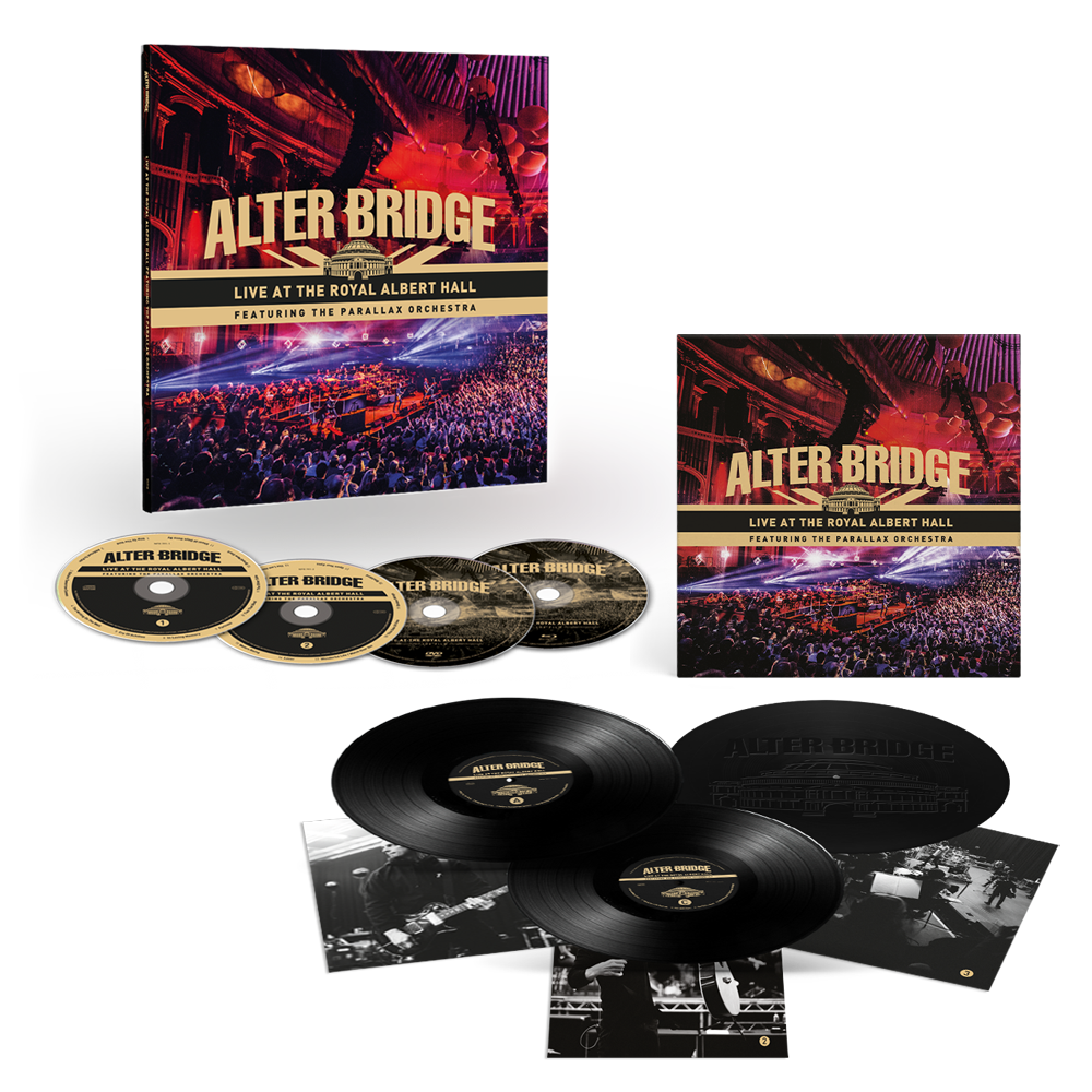 Buy Online Alter Bridge - Live At The Royal Albert Hall Featuring The Parallax Orchestra Triple Vinyl + Earbook + Art Print