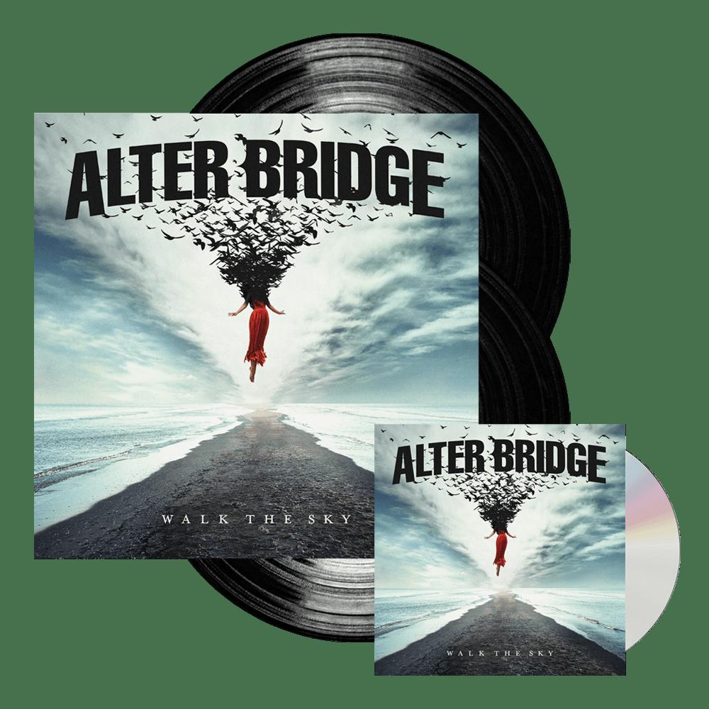Alter Bridge Walk The Sky Cd Black Double Vinyl Tm