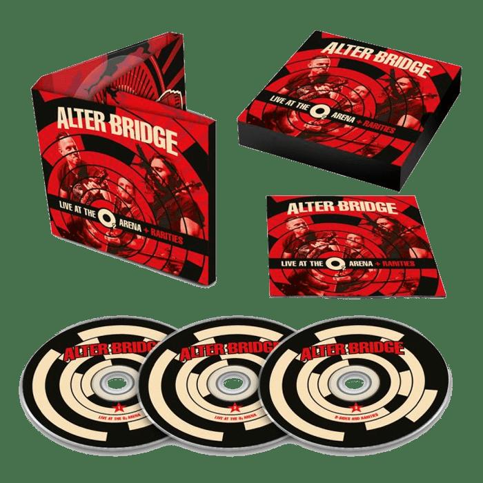 Buy Online Alter Bridge - Live At The O2 Arena + Rarities 3CD Album