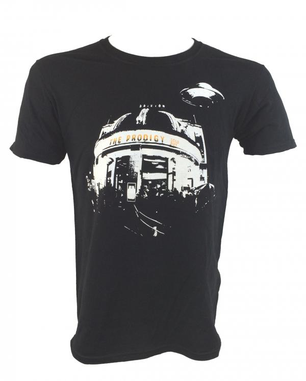 Buy Online The Prodigy - Brixton Event T-Shirt Black