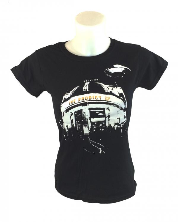 Buy Online The Prodigy - Brixton Event Ladies T-Shirt Black