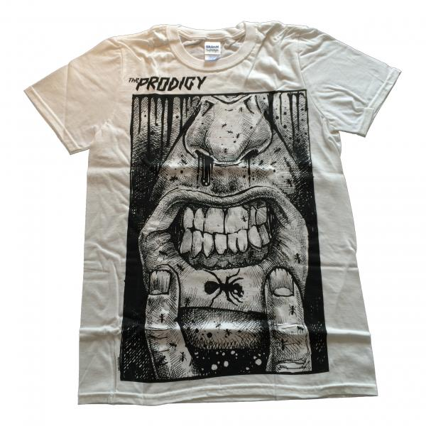 Buy Online The Prodigy - Lip Tattoo White T-Shirt