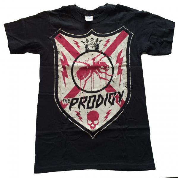 Buy Online The Prodigy - Shield Design Black T-Shirt
