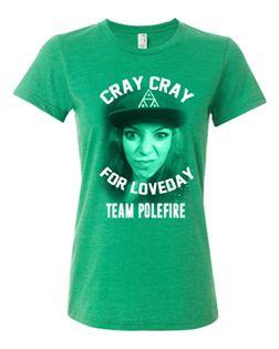 Buy Online Polefire - Loveday T-Shirt