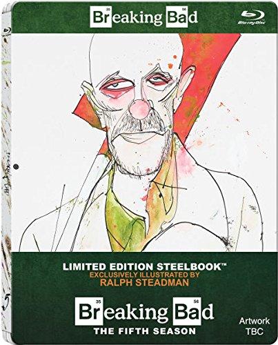 Buy Online Breaking Bad - Season 5 - Limited Edition Steelbook Blu-ray (Includes UltraViolet Copy)