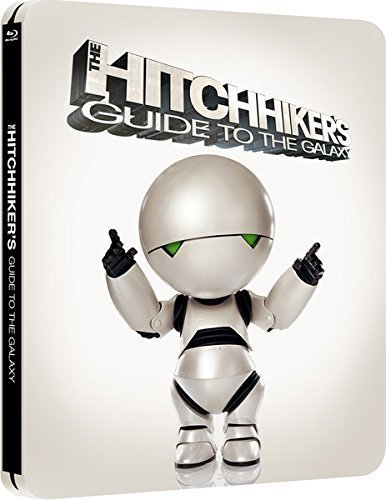 Buy Online The Hitchhiker's Guide to the Galaxy - Limited Edition Steelbook Blu-ray