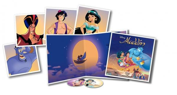 Buy Online Disney - Aladdin Big Sleeve Edition [ DVD & Blu-ray] [2016]