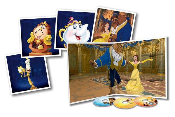Buy Online Disney - Beauty & The Beast Big Sleeve Edition [Blu-ray & DVD] [2016]
