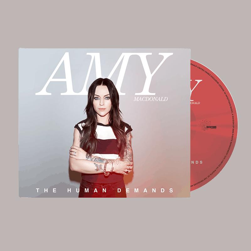 Buy Online Amy Macdonald - The Human Demands + Signed Lyric Sheet