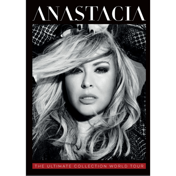 Buy Online Anastacia - Official Ultimate Collection Tour Programme