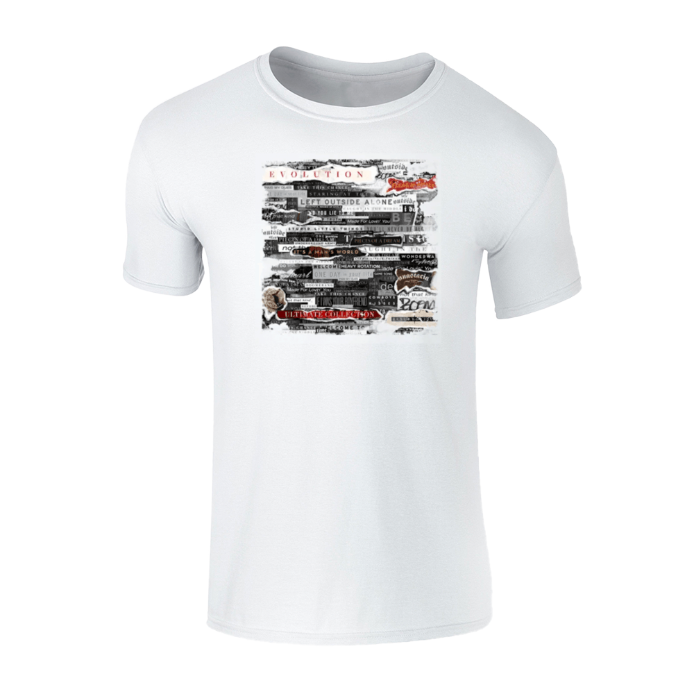 Buy Online Anastacia - Mens White T-Shirt (Online Exclusive)