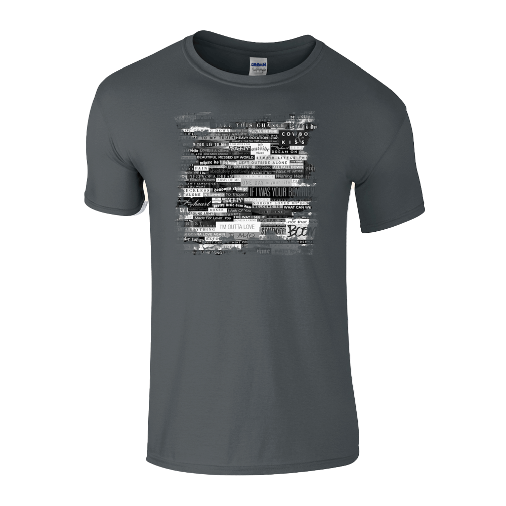 Buy Online Anastacia - Mens Grey T-Shirt (Online Exclusive)