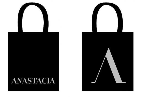 Buy Online Anastacia - Glitter Logo Tote Bag