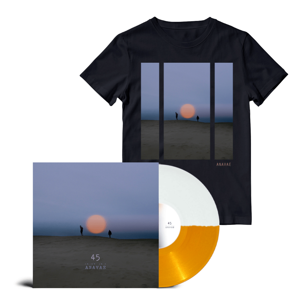 Buy Online Anavae - Anavae Signed Orange / White Vinyl + T-Shirt