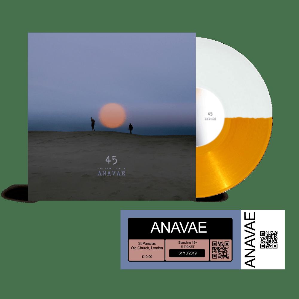 Buy Online Anavae - Anavae Signed Orange / White Vinyl + St. Pancras Old Church Ticket