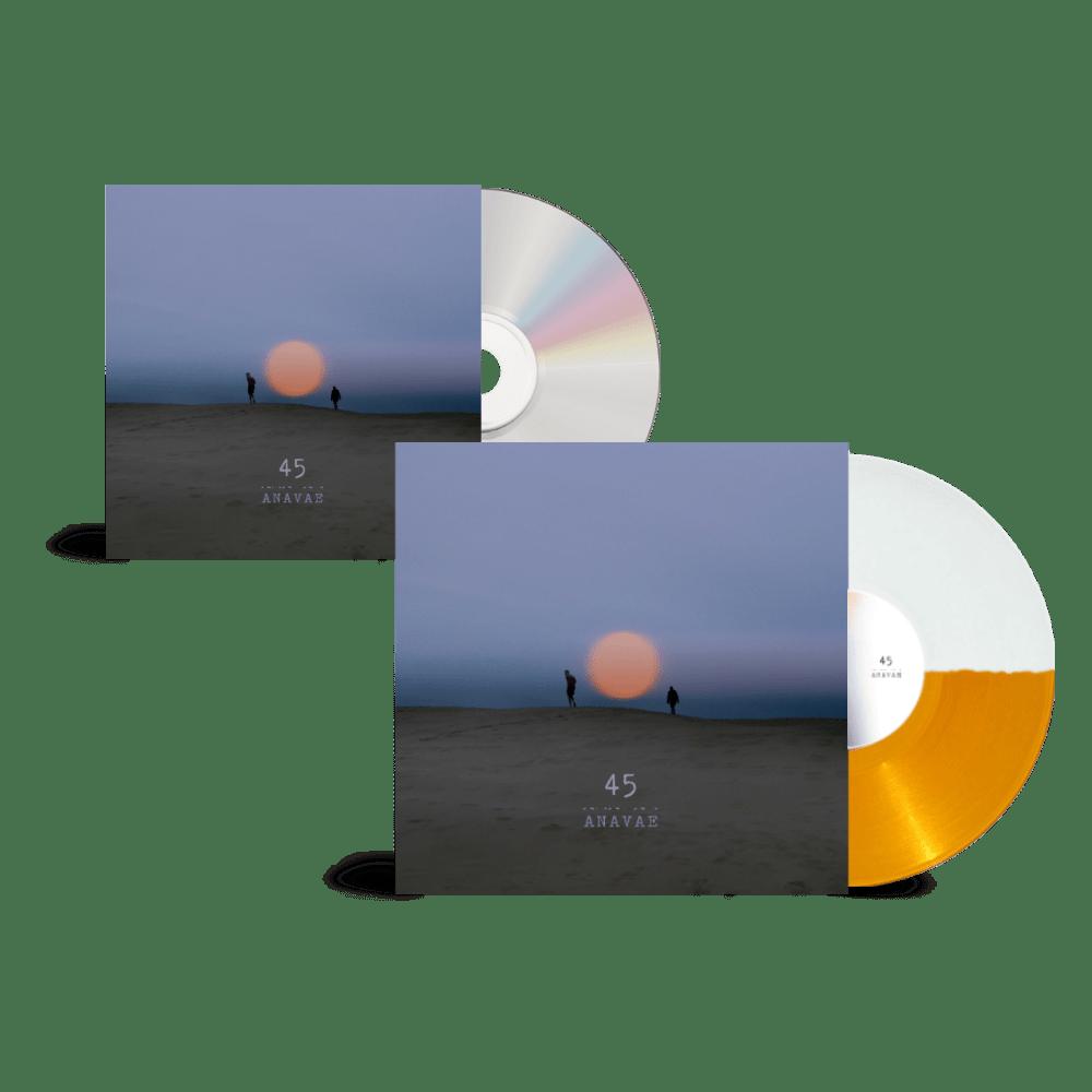 Buy Online Anavae - Anavae Signed CD + Signed Orange / White Vinyl