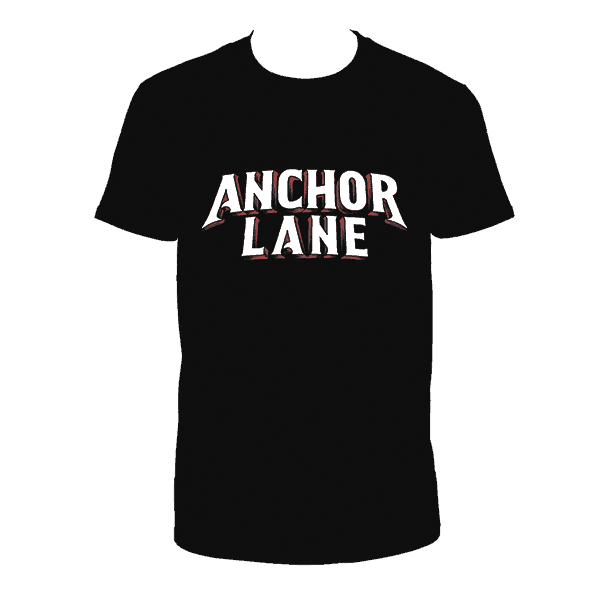 Buy Online Anchor Lane - Black T-Shirt
