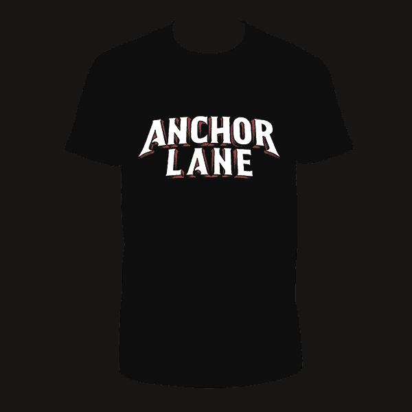Buy Online Anchor Lane - Black T-Shirt