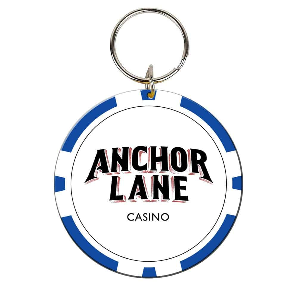 Buy Online Anchor Lane - Casino Chip Keyring