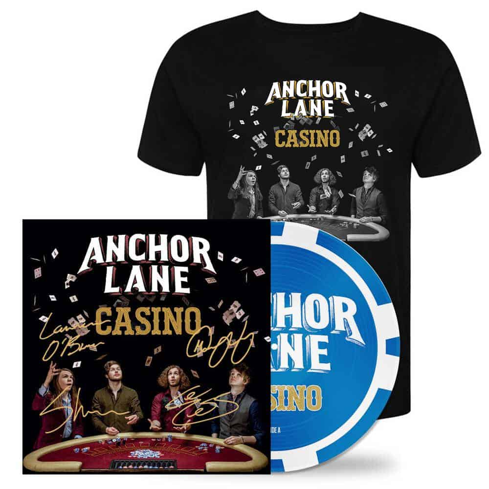 Buy Online Anchor Lane - Casino Double Sided Picture Disc Vinyl Album + Limited Edition T-shirt