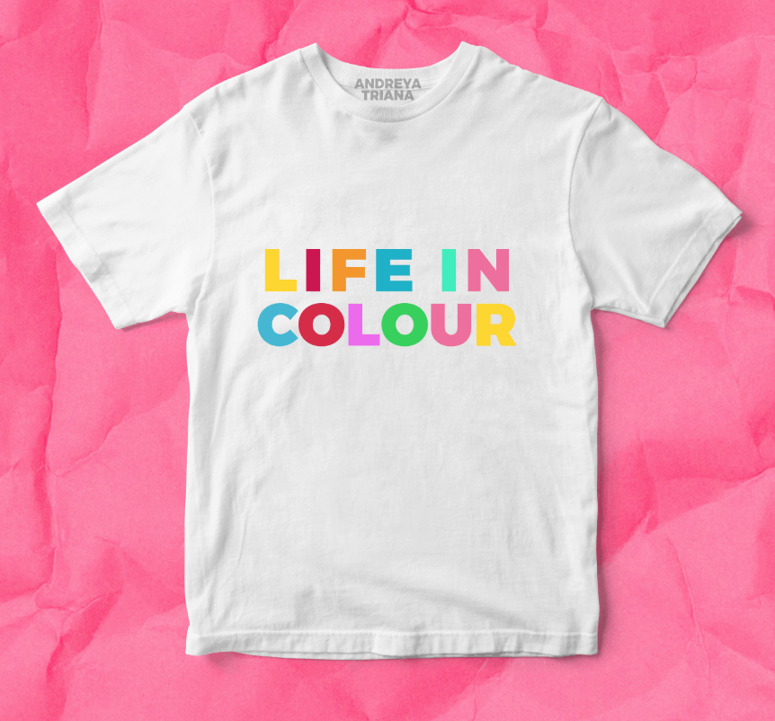 Buy Online Andreya Triana - A Life In Colour T-Shirt