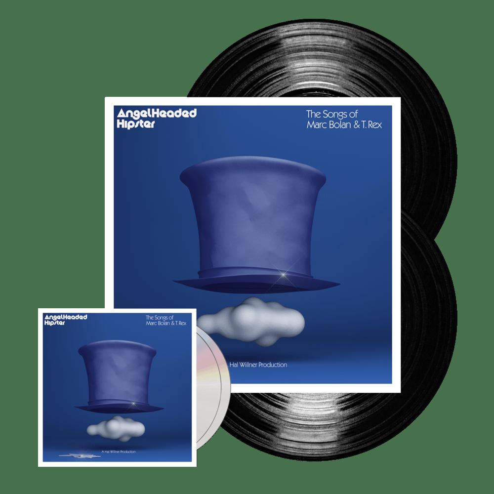Buy Online Various Artists - AngelHeaded Hipster: The Songs Of Marc Bolan & T. Rex 2CD + Black Vinyl