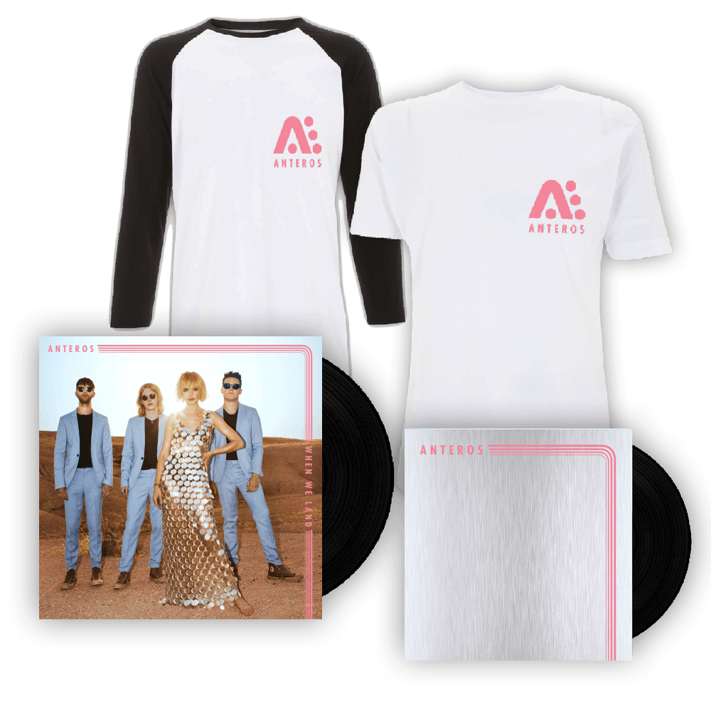 Buy Online Anteros - When We Land 7-Inch Vinyl + T-Shirt