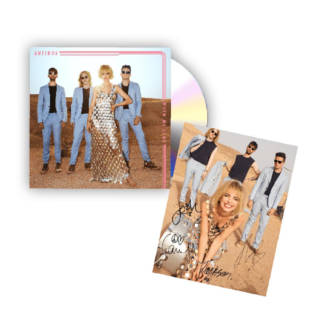 Buy Online Anteros - When We Land CD*
