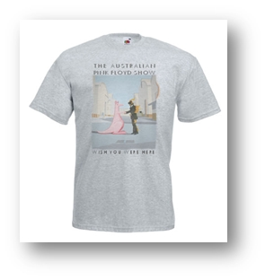 Buy Online The Australian Pink Floyd Show - Wish You Were Here T-Shirt