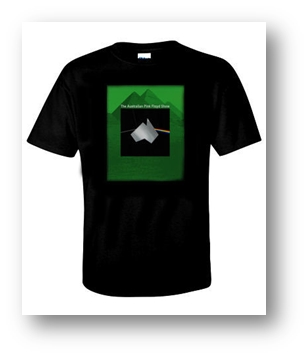 Buy Online The Australian Pink Floyd Show - Dark Side Pyramids T-Shirt