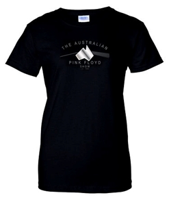 Buy Online The Australian Pink Floyd Show - Dark Side Foil Ladies T-Shirt