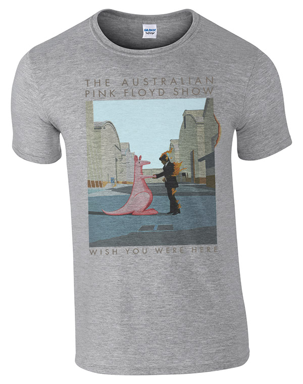 Buy Online The Australian Pink Floyd Show - Wish You Were Here 2015 Tour (with dates) - Grey