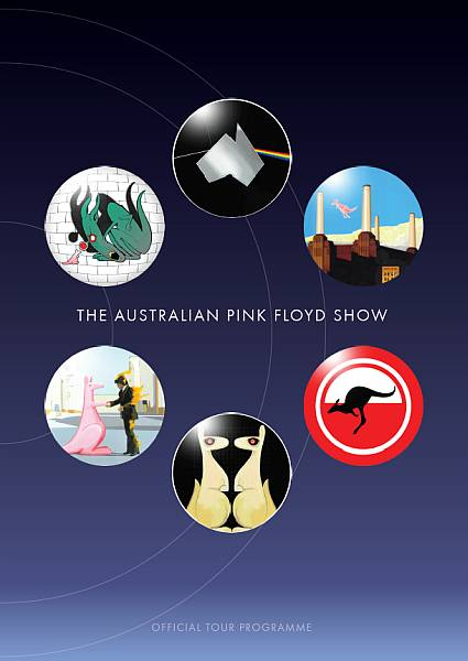 Buy Online The Australian Pink Floyd Show - 2015 Tour Programme
