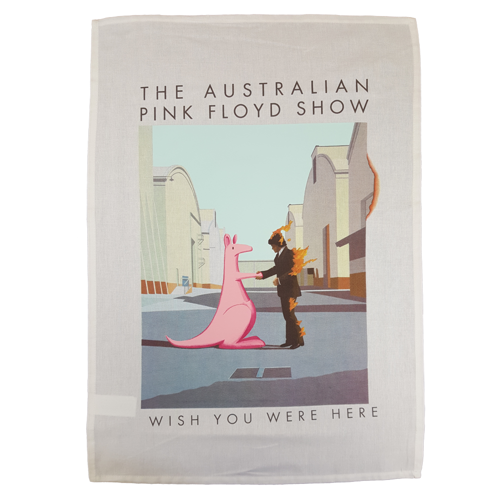 Buy Online The Australian Pink Floyd Show - Wish You Were Here Tea Towel