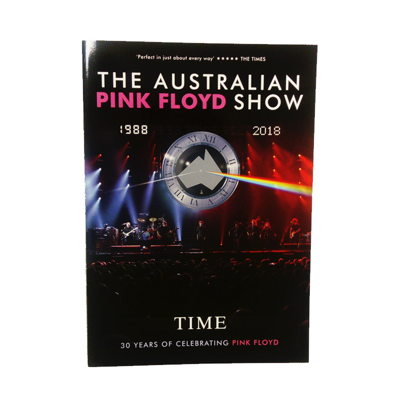 Buy Online The Australian Pink Floyd Show - 2018 30th Anniversary Tour Programme