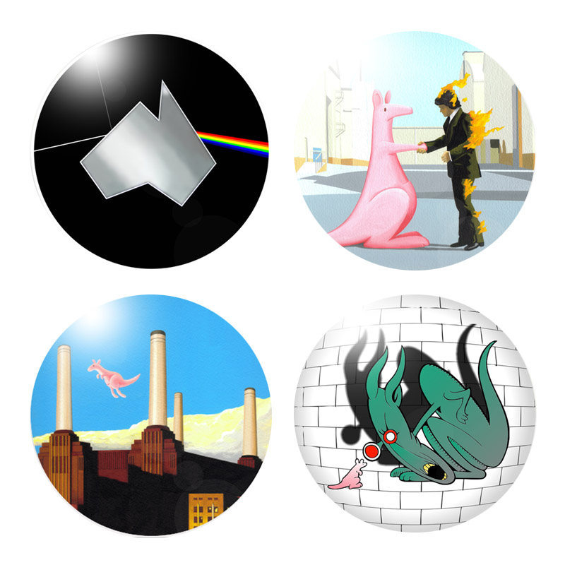 Buy Online The Australian Pink Floyd Show - Coasters (Set Of Four)