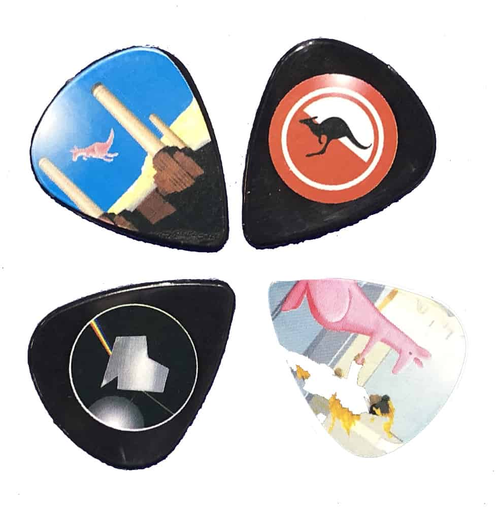 Buy Online The Australian Pink Floyd Show - Guitar Plectrums - set of 4
