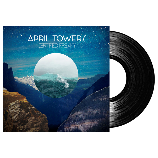 Buy Online April Towers - Signed Certified Freaky LP