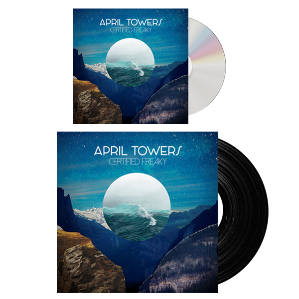 Buy Online April Towers - CD + Vinyl Bundle