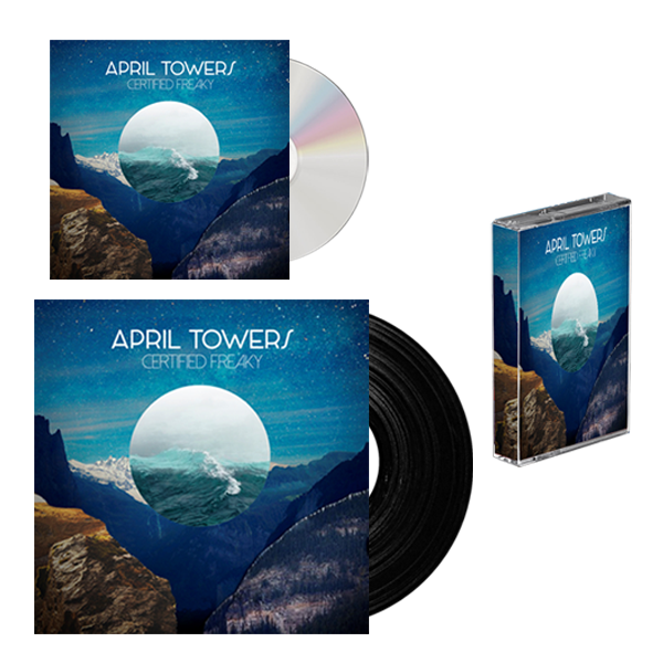 Buy Online April Towers - CD, LP and Cassette Bundle