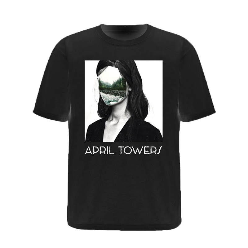 Buy Online April Towers - Faceless T-Shirt