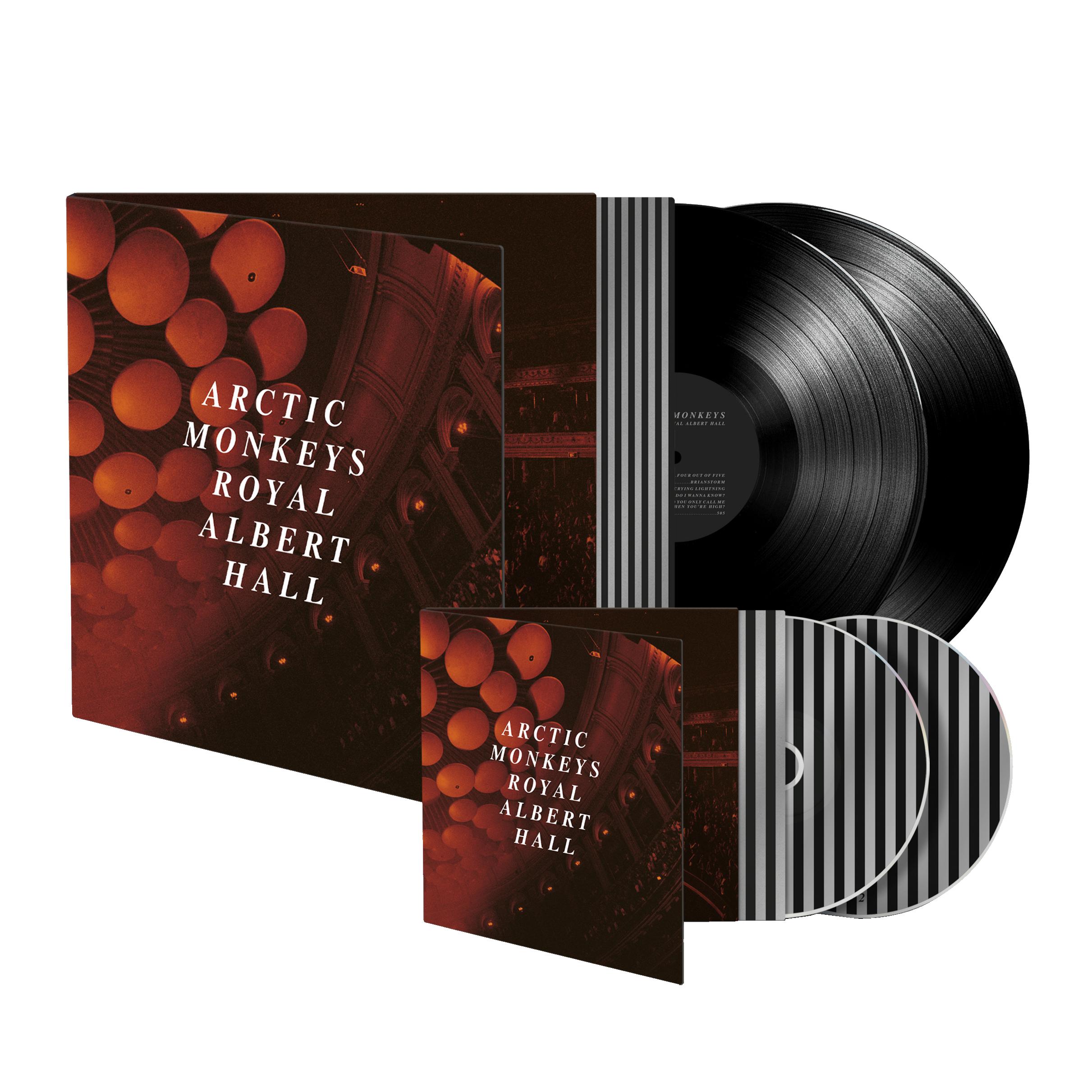 Double LP / CD BundleHeavyweight Black Vinyl20 TracksGatefold Sleeve