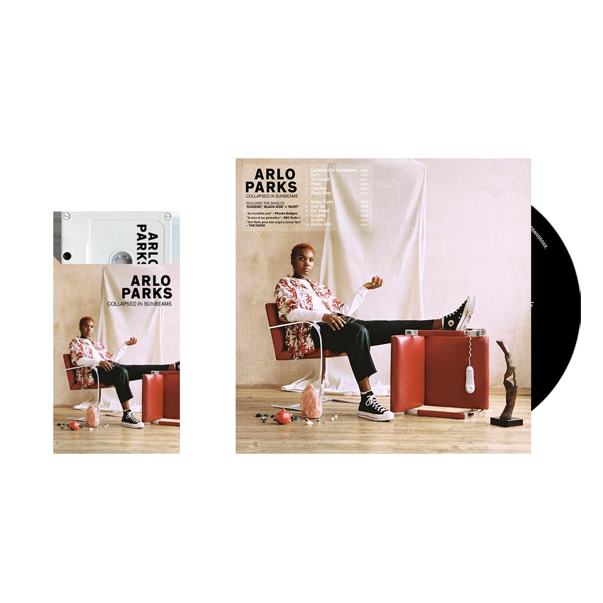 Buy Online Arlo Parks - CD (Signed) + Cassette + Bonus CD Best Of The Lo Fi Lounge (signed) + Flexi-disk