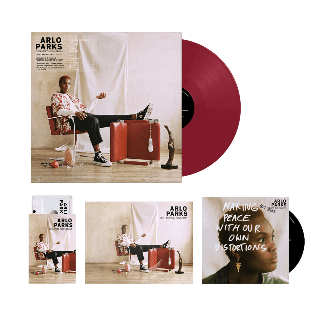 Buy Online Arlo Parks - Limited Edition Coloured Vinyl + Cassette + Bonus CD Best Of The Lo Fi Lounge (signed) + Flexi-Disk