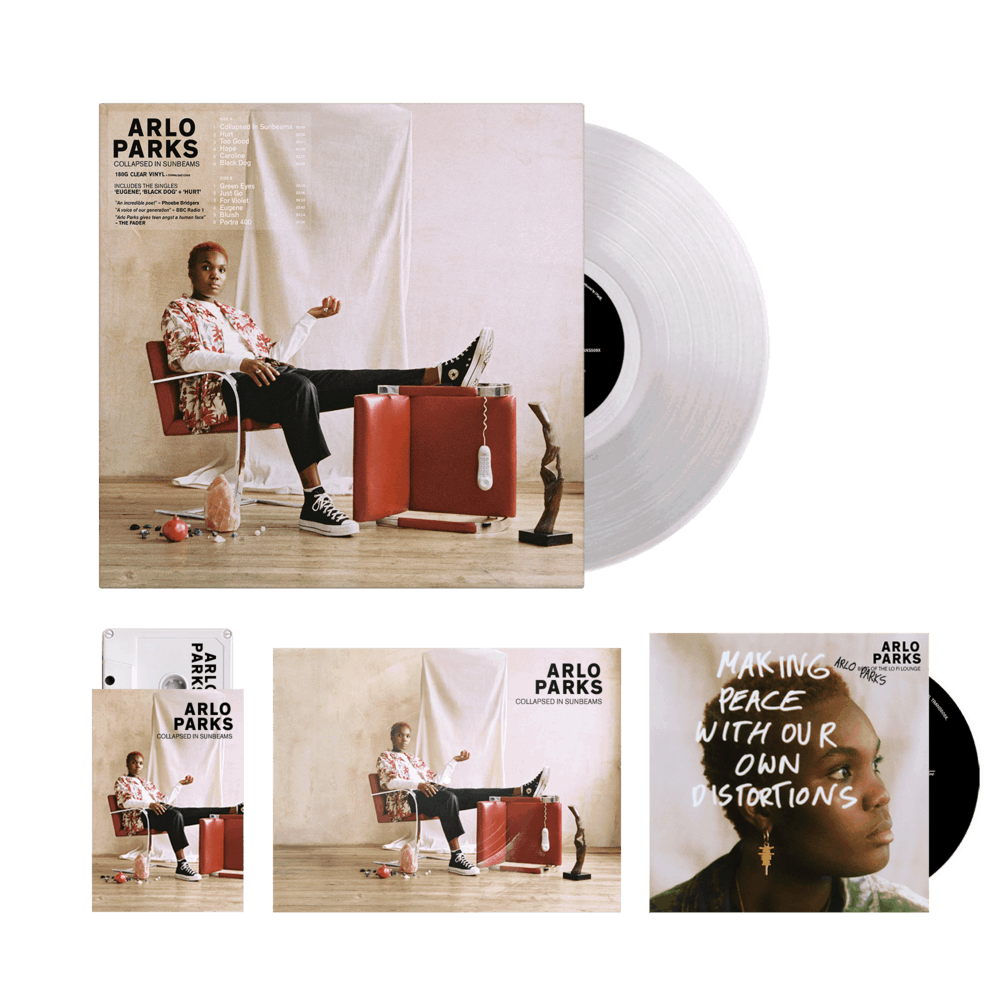 Buy Online Arlo Parks - Limited Edition Clear Vinyl (store exclusive, signed) + Cassette + Bonus CD Best Of The Lo Fi Lounge (signed) + Flexi-Disk