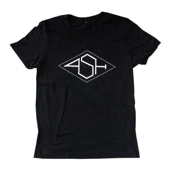 Buy Online Ash - Ash Black Logo T-Shirt