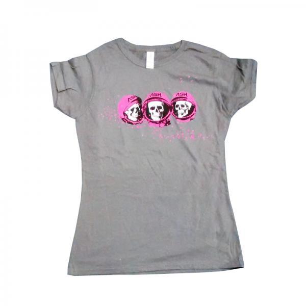 Buy Online Ash - Skulls Grey T-Shirt